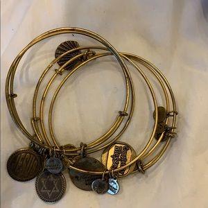 Alex and Ani bracelets 5